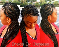 How to style the box braids? Tucked in a low or high ponytail, in a tight or blurry bun, or in a semi-tail, the box braids can be styled in many different ways. To go to work, we can wear… Continue Reading → Box Braids Hairstyles, Flat Twist Hairstyles, Try On Hairstyles, My Hairstyle, Trendy Hairstyles, Wedding Hairstyles, Natural Hair Twists, Natural Hair Styles, Short Hair Styles