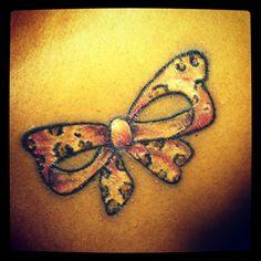 My cheetah print Tattoo...want it :)