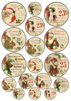 DIY Vintage Gold Christmas Gift Tags – Free Printable … - Diy and Crafts Mix Diy Vintage, Images Vintage, Vintage Christmas Images, Free Printables Weihnachten, Diy Weihnachten, Christmas Decoupage, Christmas Gift Wrapping, Noel Christmas, Christmas Gifts