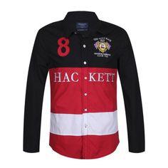Hackett London Polo Shirt long sleeve  [HL131-13]