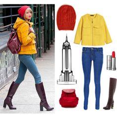 Taylor Swift Hadaki Bag Yellow Paddinton