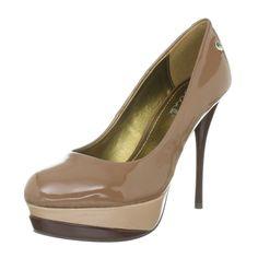 Blink Klassische Damen Plateau Pumps Schuhe Damen Pumps
