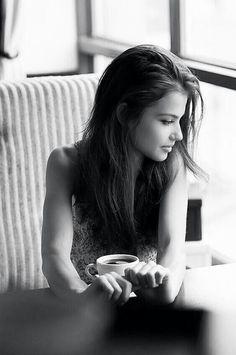 I love having coffee with My Nina...