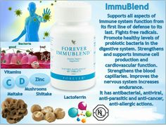 Help support the body's defence system with Forever Immublend. This supplement is high in vitamin C, D and zinc, all of which contribute to the normal function of the immune system. Forever Living Clean 9, Forever Living Aloe Vera, Forever Living Business, Aloe Vera Juice Drink, Tapas, Forever Life, Chocolate Slim, Protein Shake Recipes, Health Products