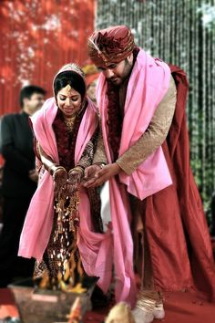 A Happily wed Indian Couple at Yuna Weddings