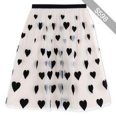 Alice+Olivia 3/4 Length Skirt