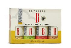 Boyajian Mini Asian Set, (4 Count) Pack of 3 -- Review more details, click the image  at Dinner Ingredients board