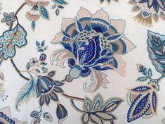 Designer Pillow Indian Ocean with Baja Stripe by CasaBlahBlah