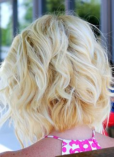 This angled bob will be sure to get you noticed.