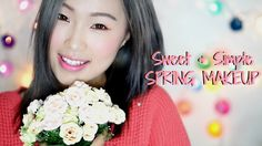 ▼ OPEN HERE▼ A sweet, girly and fresh Korean style spring makeup. Thumbs up if you want more Spring Makeup looks! Spring Makeup, Your Girl, Spring Fashion, Makeup Looks, Girly, Simple, Sweet, Collection, Fashion Spring