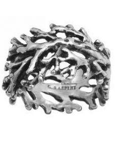 Anello in argento, riproduce il motivo del corallo   Giovanni Raspini  #anello #anelli #ring #rings #corallo #argento #silver #mare #sea #estate #summer #vacanza #vacanze #holiday #holidays
