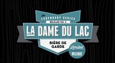 La Dame du Lac - Beer Label, Lakewood Brewing Company