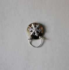 Snowflake Magnetic Eyeglass Holder by LauraWilsonGallery on Etsy, $45.00