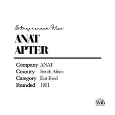 Anat Apter, a mother of three and the founder of the Anat, started her business with almost nothing when her family experienced financial problems. Entrepreneur Inspiration, Financial Planning, First Names, Personal Finance, Give It To Me, Inspire, Messages, Business, Store