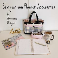 Planner accessories| planner tote | Washi tape zipper pouch