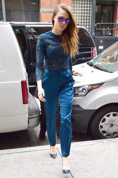 Cara Delevingne in Femme D'Armes - Best dressed celebrities this week: 20 July | Harper's Bazaar