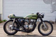 Honda CB 750 Army Green