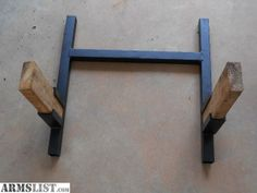 diy shooting targets | ... targets it is sturdy when in use these stands are home made. Text me