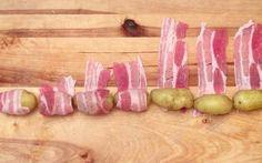 La délicieuse fondue au reblochon, aux pommes de terre et au bacon