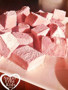 All Natural Sugar Free Marshmallow recipe