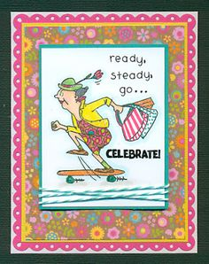 Birthday woman card art impressions 42 ideas for 2019 Birthday Cards For Girlfriend, Cool Birthday Cards, Birthday Crafts, Humor Birthday, Birthday Nails, Funny Girlfriend, Funny Boyfriend, Birthday Recipes, Birthday Bash