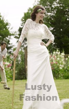 vintage style wedding dresses 1