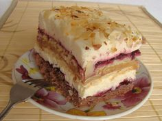 Wykwintne i bogate ciasto zadowoli każde podniebienie Baking Recipes, Cake Recipes, Almond Cakes, Food Cakes, Tiramisu, Nutella, Sandwiches, Cheesecake, Food And Drink