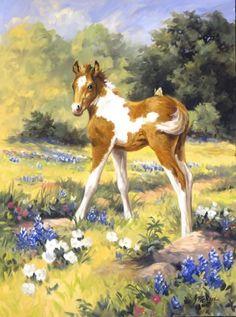 Linda Picken Art Studio / Paint Colt and Butterfly.jpg