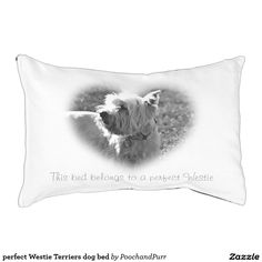 perfect Westie Terriers dog bed Small Dog Bed