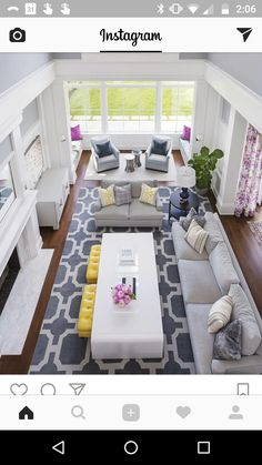 Living Room with some color. Wall paint Sherwin Williams Passive SW7064