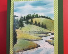 Any Occasion Card of rolling hills