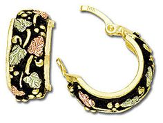 online shopping for Landstroms Black Hills Gold Jewelry Black Hills Gold Antique Hoop Earrings from top store. See new offer for Landstroms Black Hills Gold Jewelry Black Hills Gold Antique Hoop Earrings Black Hills Gold Jewelry, Silver Jewelry Box, Antique Earrings, Gold Earrings, Fork Bracelet, Charm Bracelets, Kids Earrings, Ear Piercings, Women Jewelry