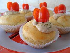Como Fazer Cupcake Salgado com Patê de Atum