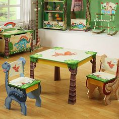 Creatively designed furniture and decor for kids from Zulily's.