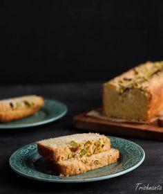 Pistachio Cardamom Loaf Cake