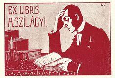[Ex libris A. Szilágyi] by Stifts- och landsbiblioteket i Skara, via Flickr