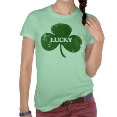 #Irish #StPatricksDay #zazzle #green #jamiecreares1 #Grunge #Clover #TShirt #StPatricksDaytshirt #zazzle #jamiecreates1