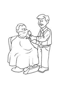a colorier un barbier mettant de la mousse raser sur la barbe d digi stampsfoamcoloring pagesgentlemancoloring occupations
