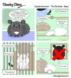 Cheeky Chins - Episode 17 - The Chin Guide To Sleep