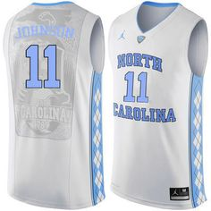 7982c9adff8d4c Men North Carolina Tar Heels  11 Brice Johnson College Basketball Jerseys  Sale-White