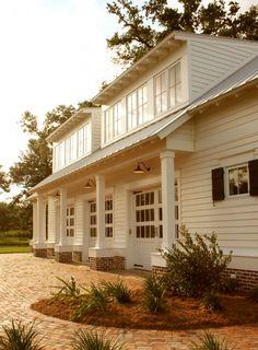 shed dormer windows Garage Design, Exterior Design, House Design, Brick Design, Shed Plans, House Plans, Garage Plans, Shed Dormer, Dormer Roof