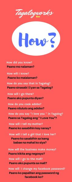 learn Tagalog speak Tagalog Filipino learn Filipino Philippines How to Tips lesson 2018 new learn tagalog fast learn tagalog for beginners Reading Passages, Reading Comprehension, Questions To Ask, This Or That Questions, Tagalog Words, Filipino Words, Filipino Culture, Learn Korean, Philippines
