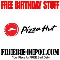 ►► FREE BIRTHDAY STUFF - Pizza Hut - FREE BDay Cinnamon Sticks - Birthday Freebie Dessert ►► #BDay, #BirthdayFreebie, #FREEBirthday, #FreePizza, #PizzaHut ►► Freebie-Depot