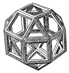 corwood: The first ever printed version of the Rhombicuboctahedron was by Leonardo da Vinci, as appeared in the Divina Proportione by Luca Pacioli 1509 Luca Pacioli, Michelangelo, Leonardo Da Vinci Biography, Da Vinci Inventions, Andrea Mantegna, Divine Proportion, Shape Templates, Mc Escher, Ball Jointed Dolls