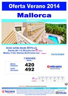 Mallorca: Oferta Hotel Bahamas salidas desde Sevilla ultimo minuto - http://zocotours.com/mallorca-oferta-hotel-bahamas-salidas-desde-sevilla-ultimo-minuto/