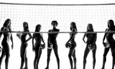 U.S. women's volleyball team in ESPN Body Issue 2012  >> click on the image to learn more...