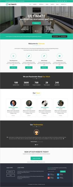 Ultimate is a professional multipurpose #bootstrap template for #edtech #webdesign corporate #sites or learning management system, university, school, primary school websites download now➩ https://themeforest.net/item/ultimate-multiple-purpose-html-responsive-site-template/18586884?ref=Datasata