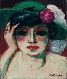 Portrait de Fernande- Kees Van Dongen