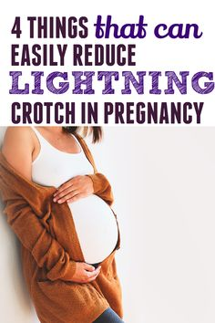 Lightning crotch is something that can happen during pregnancy but it doesn't happen to every woman. Those sharp, shooting pains can be really uncomfortable but here are some tips on how to handle it. #pregnancy #pregnancytips Trimesters Of Pregnancy, Pregnancy Tips, All About Pregnancy, It Hurts Me, Do You Know What, Brown Skin, New Moms, Lightning, Handle