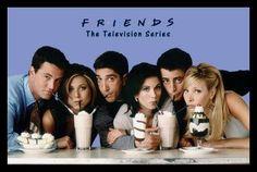 Friends Milkshakes (24x36) - FLM56231